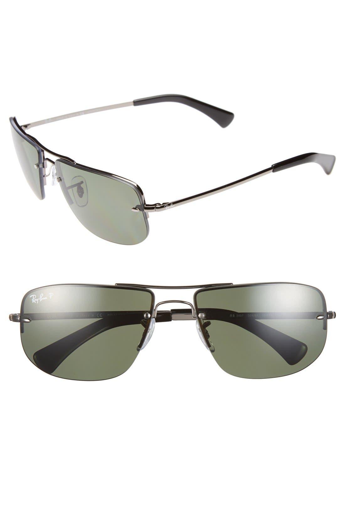 Main Image - Ray-Ban 59mm Polarized Sunglasses