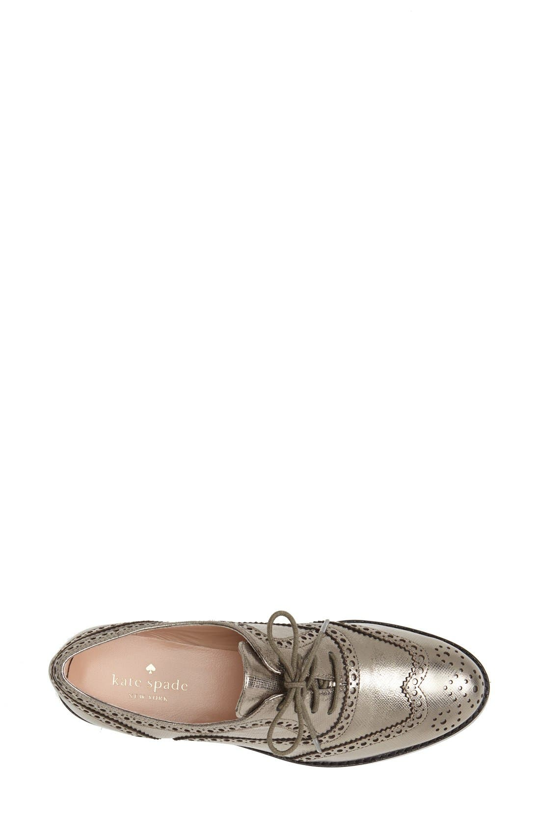 Alternate Image 3  - kate spade new york 'pella' flat (Women)