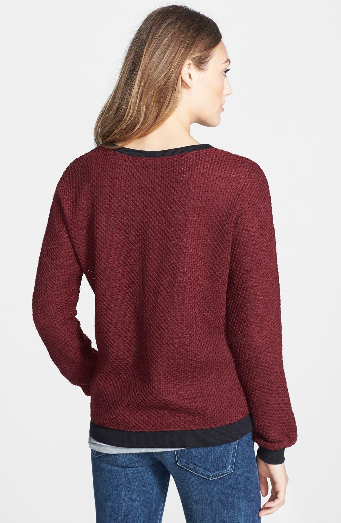 Alternate Image 2  - Sanctuary 'Deeper Than Vee' Sweater