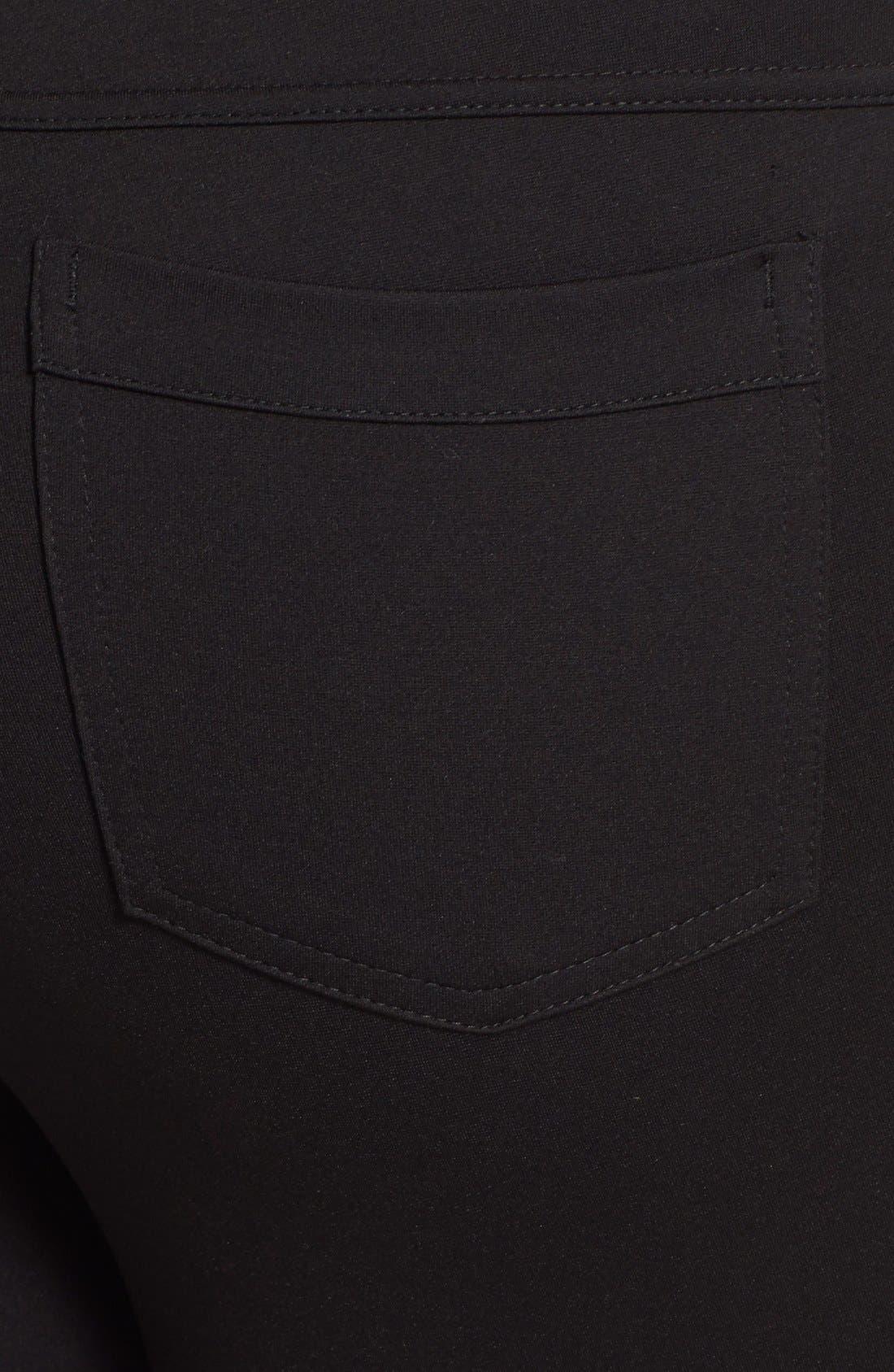 Alternate Image 3  - Hue Ponte Knit Leggings (Plus Size)