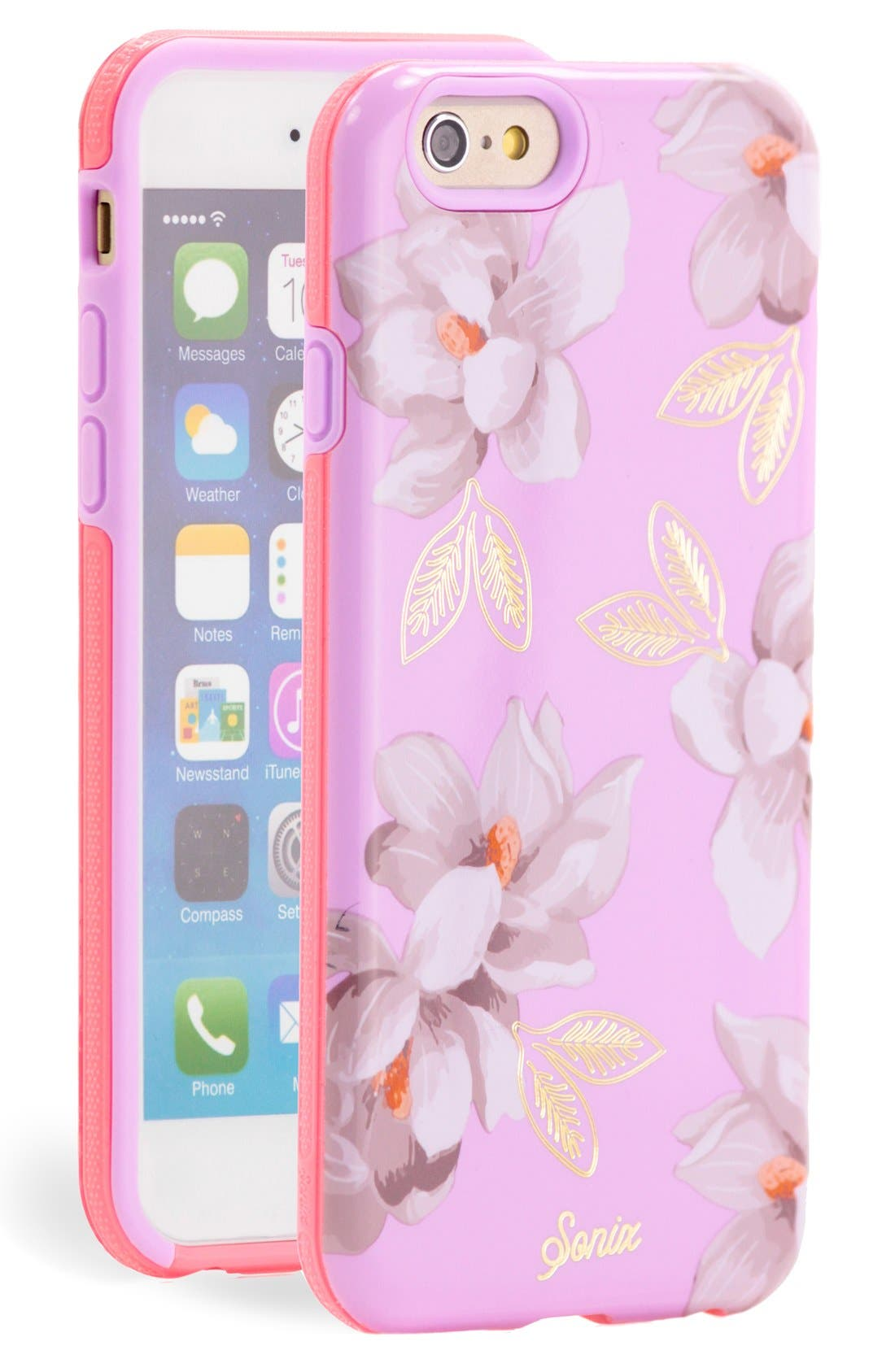 Alternate Image 1 Selected - Sonix 'Lavender Lily' iPhone 6 Case