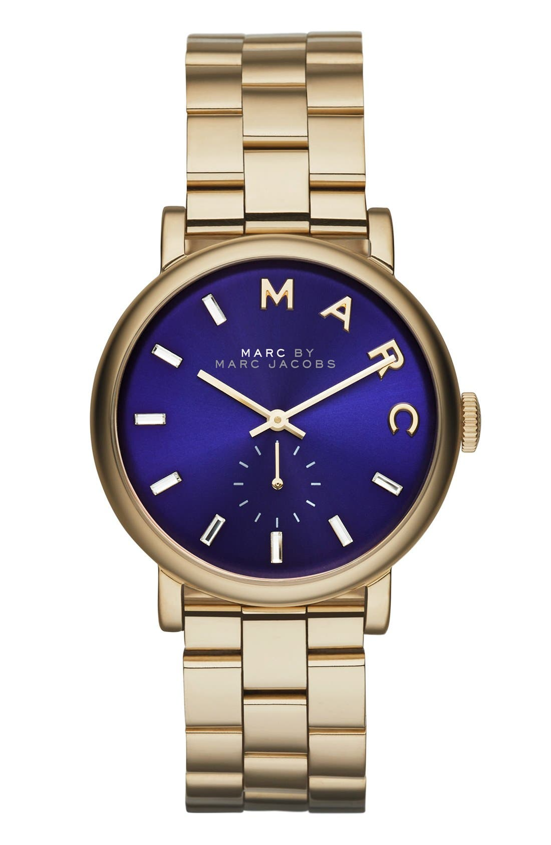 Alternate Image 1 Selected - MARC JACOBS 'Baker' Bracelet Watch, 37mm