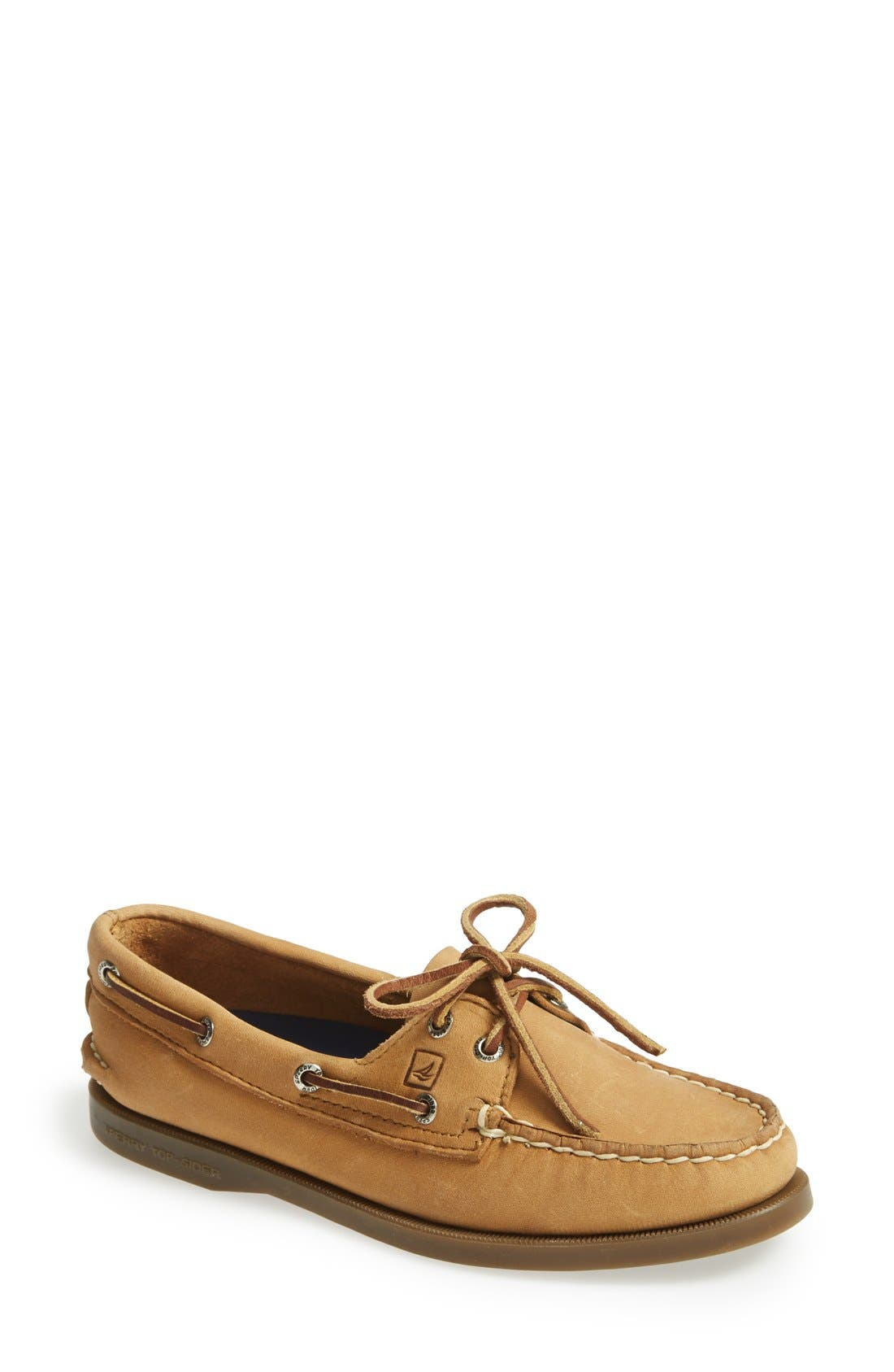 Alternate Image 1 Selected - Sperry 'Authentic Original' Woven Boat Shoe