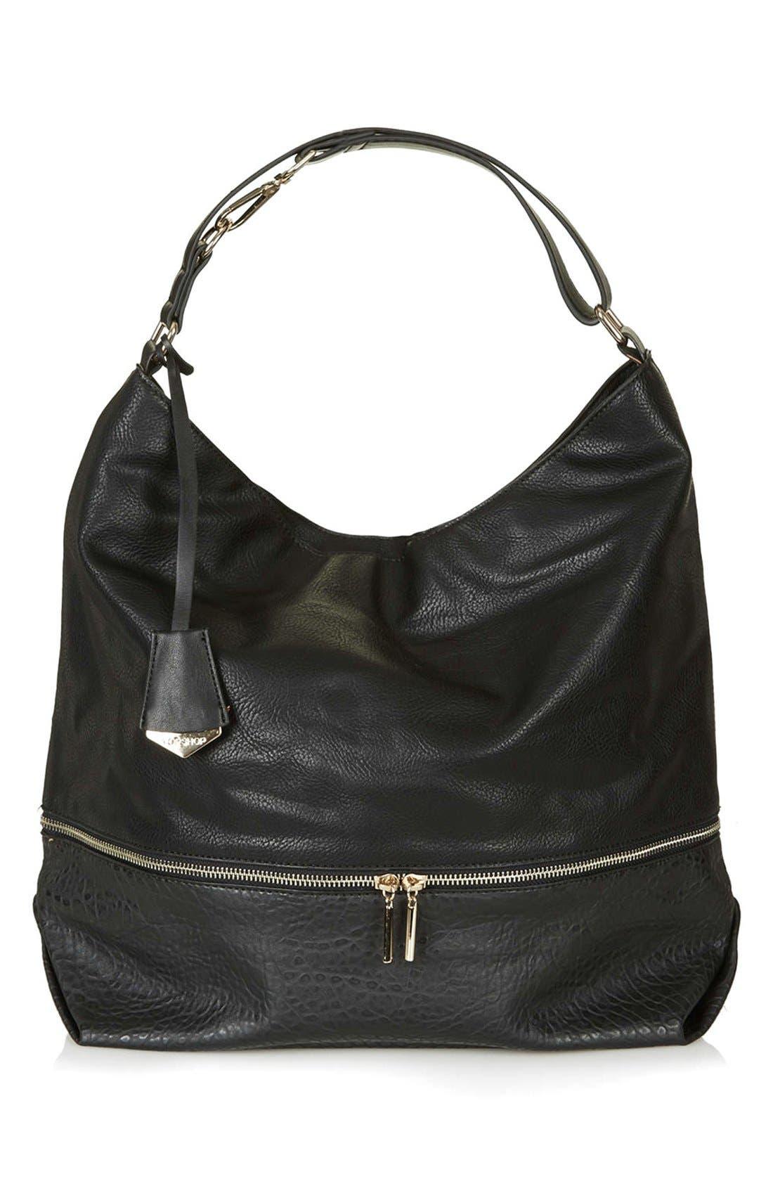 Main Image - Topshop Slouchy Hobo Bag
