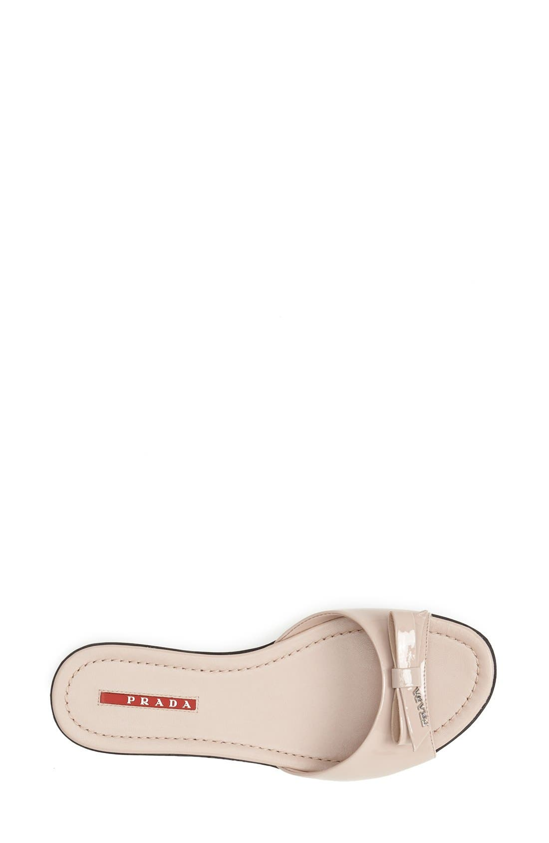 Alternate Image 3  - Prada Bow Slide Sandal (Women)