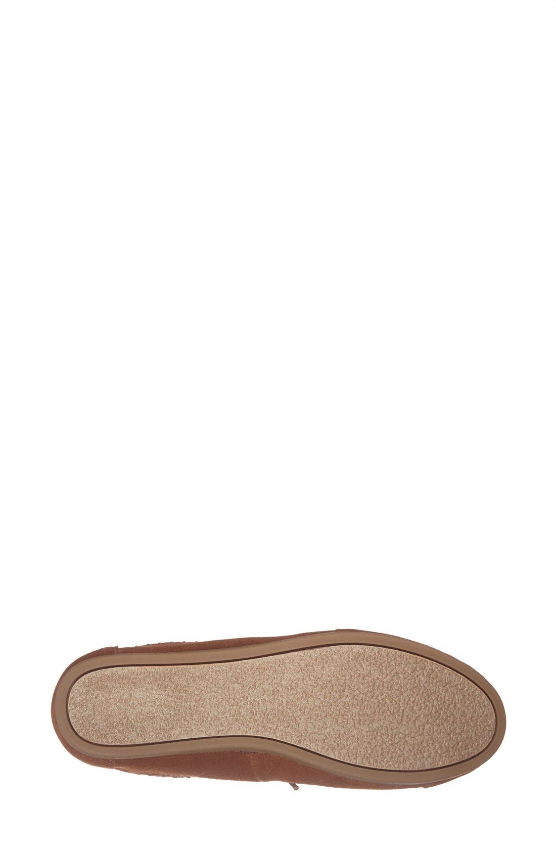 Alternate Image 4  - TOMS Suede Desert Bootie (Women)