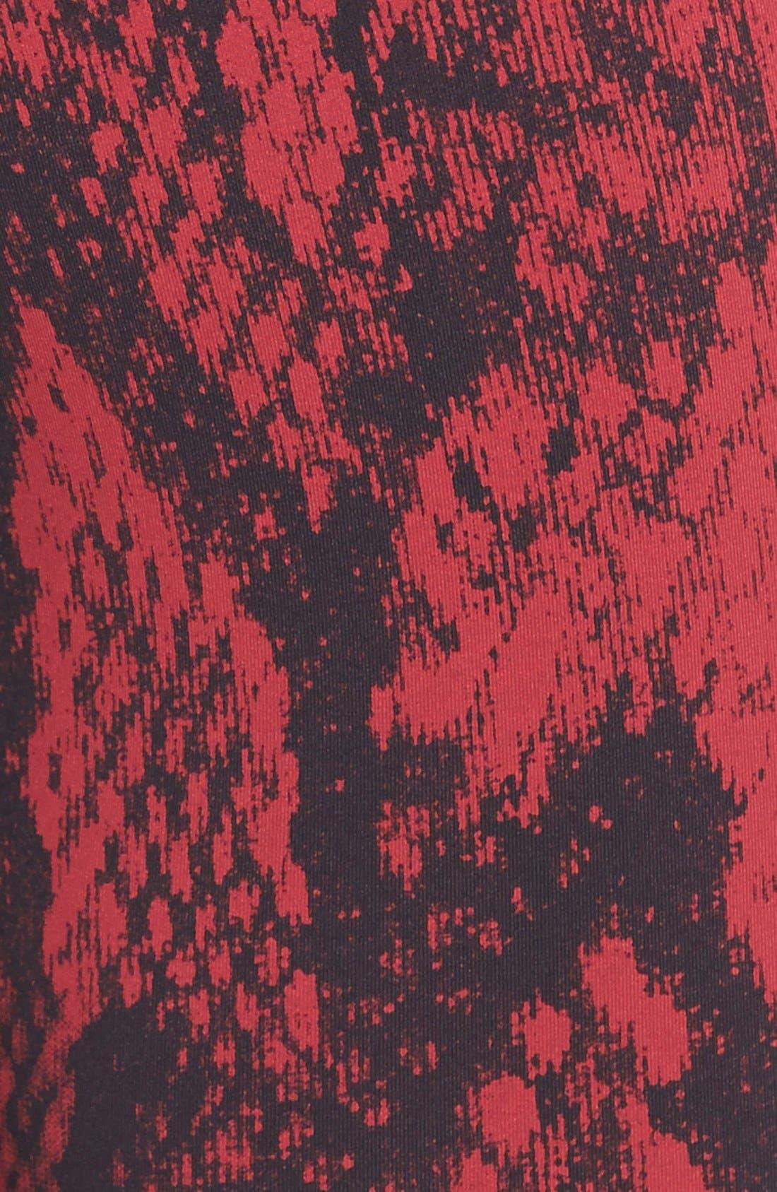 Alternate Image 4  - Nike 'Epic Lux' Snakeskin Print Crop Running Tights