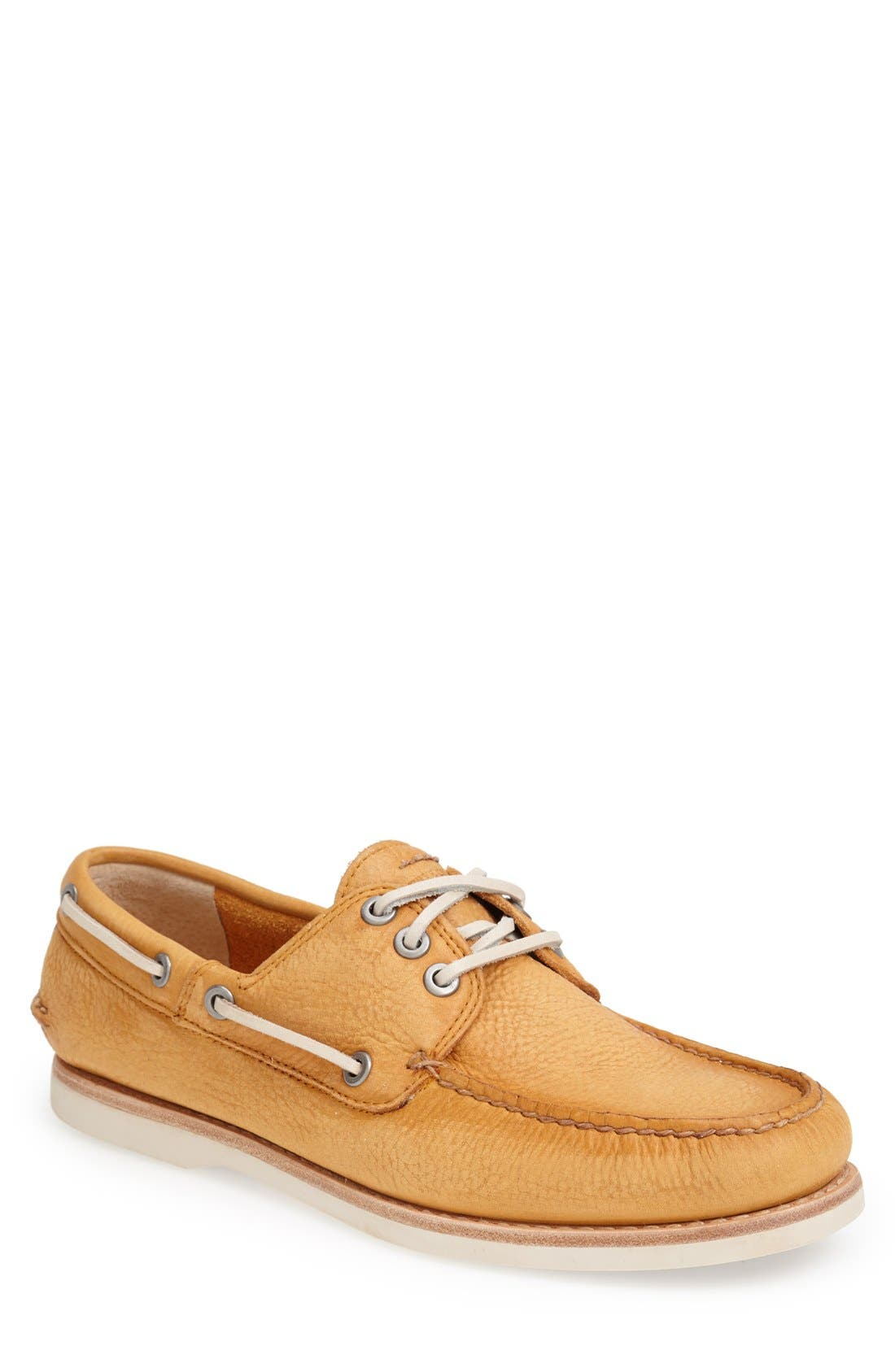 Main Image - Frye 'Sully' Leather Boat Shoe