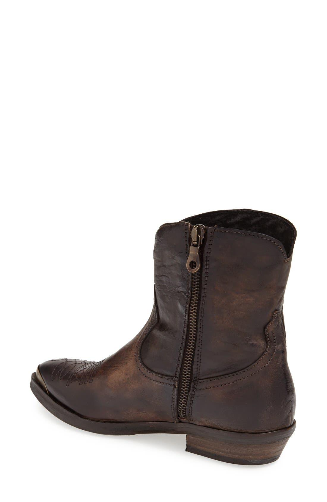 Alternate Image 2  - KBR Low Shaft Leather Boot (Women)