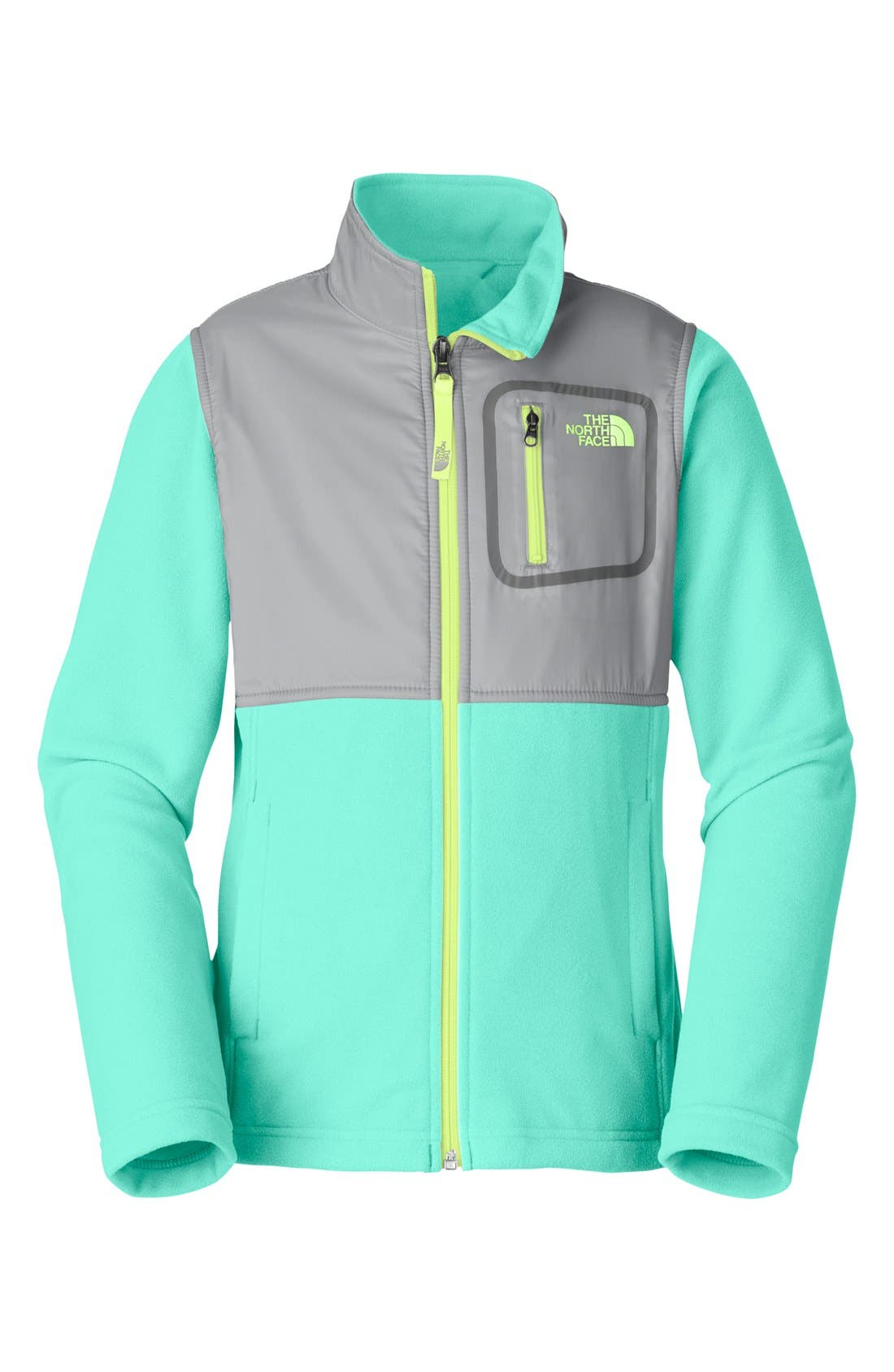 Alternate Image 1 Selected - The North Face 'Glacier' Jacket (Little Girls & Big Girls)