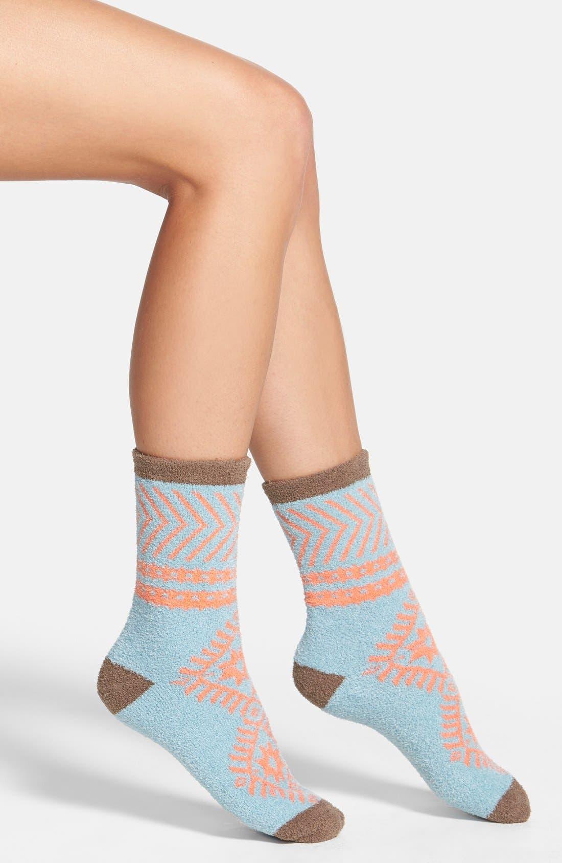 Main Image - Free People Geometric Socks