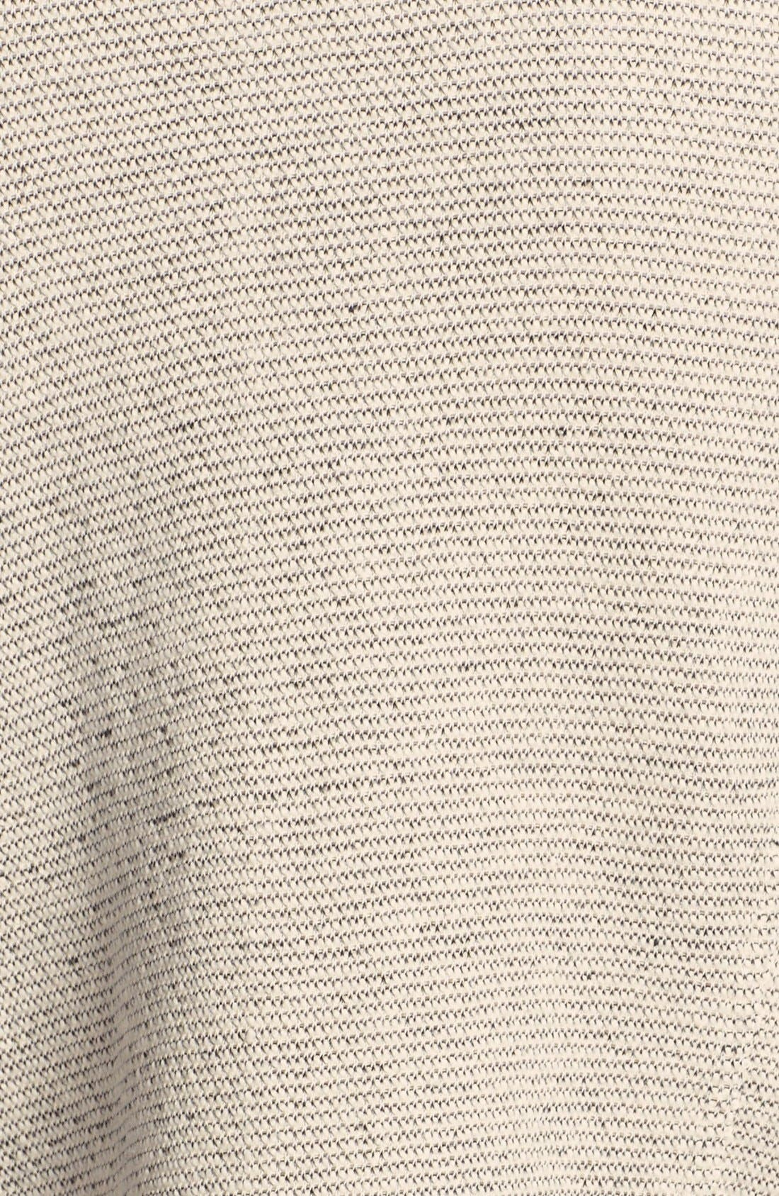 Alternate Image 3  - Caslon® Tweedy Terry Knit Drape Front Jacket