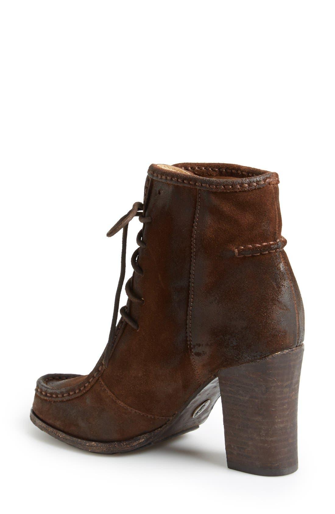 Alternate Image 2  - Frye 'Parker' Suede Moc Toe Ankle Boot (Women)