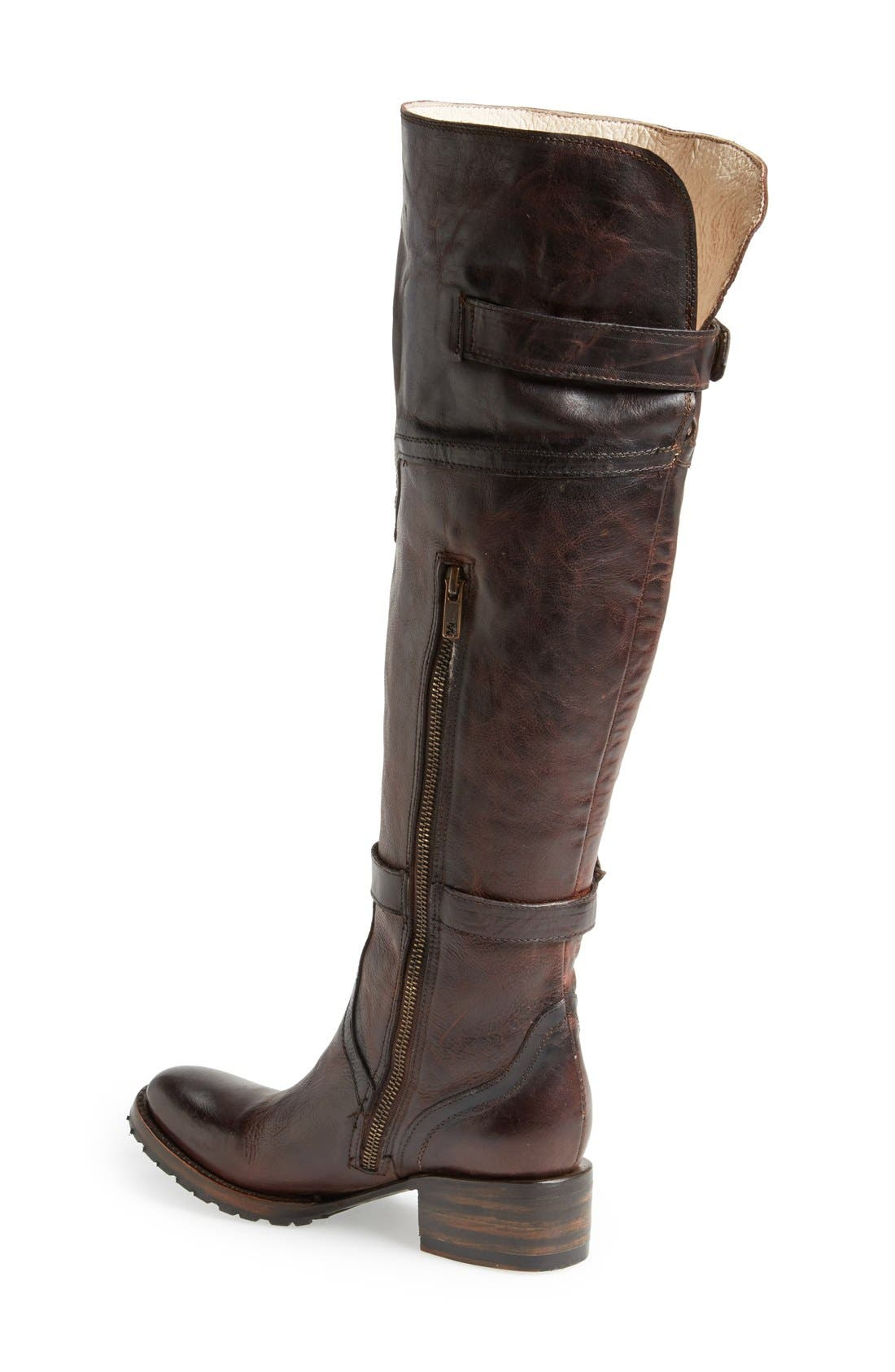 Alternate Image 2  - Freebird by Steven 'Quebec' Leather Riding Boot (Women)