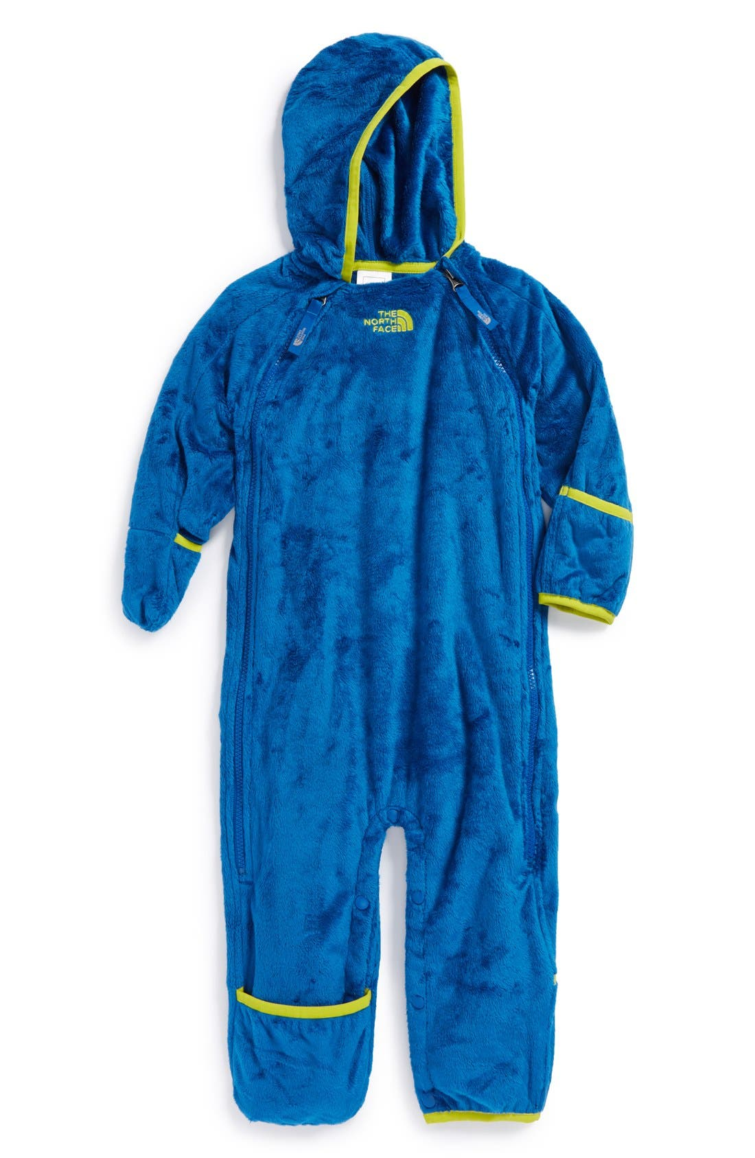 Alternate Image 1 Selected - The North Face 'Buttery' Fleece Bunting (Baby Boys)