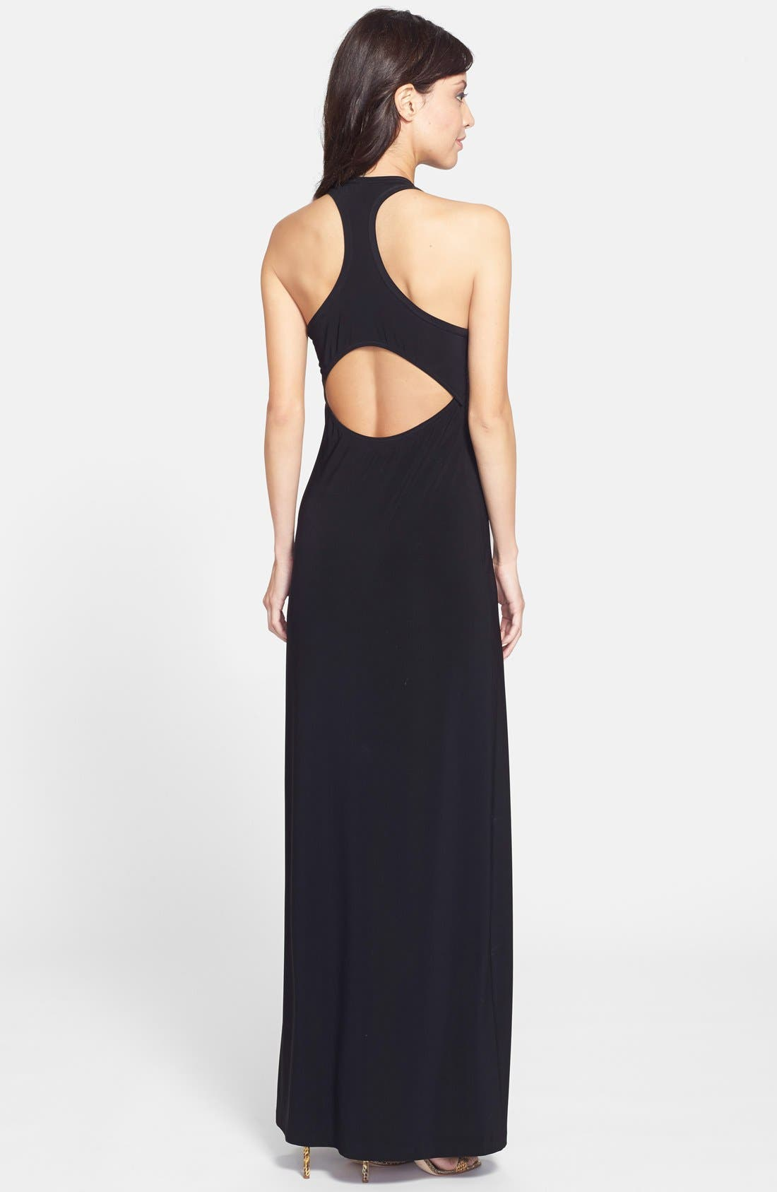 Alternate Image 2  - KAMALIKULTURE Cutout Racerback Maxi Dress