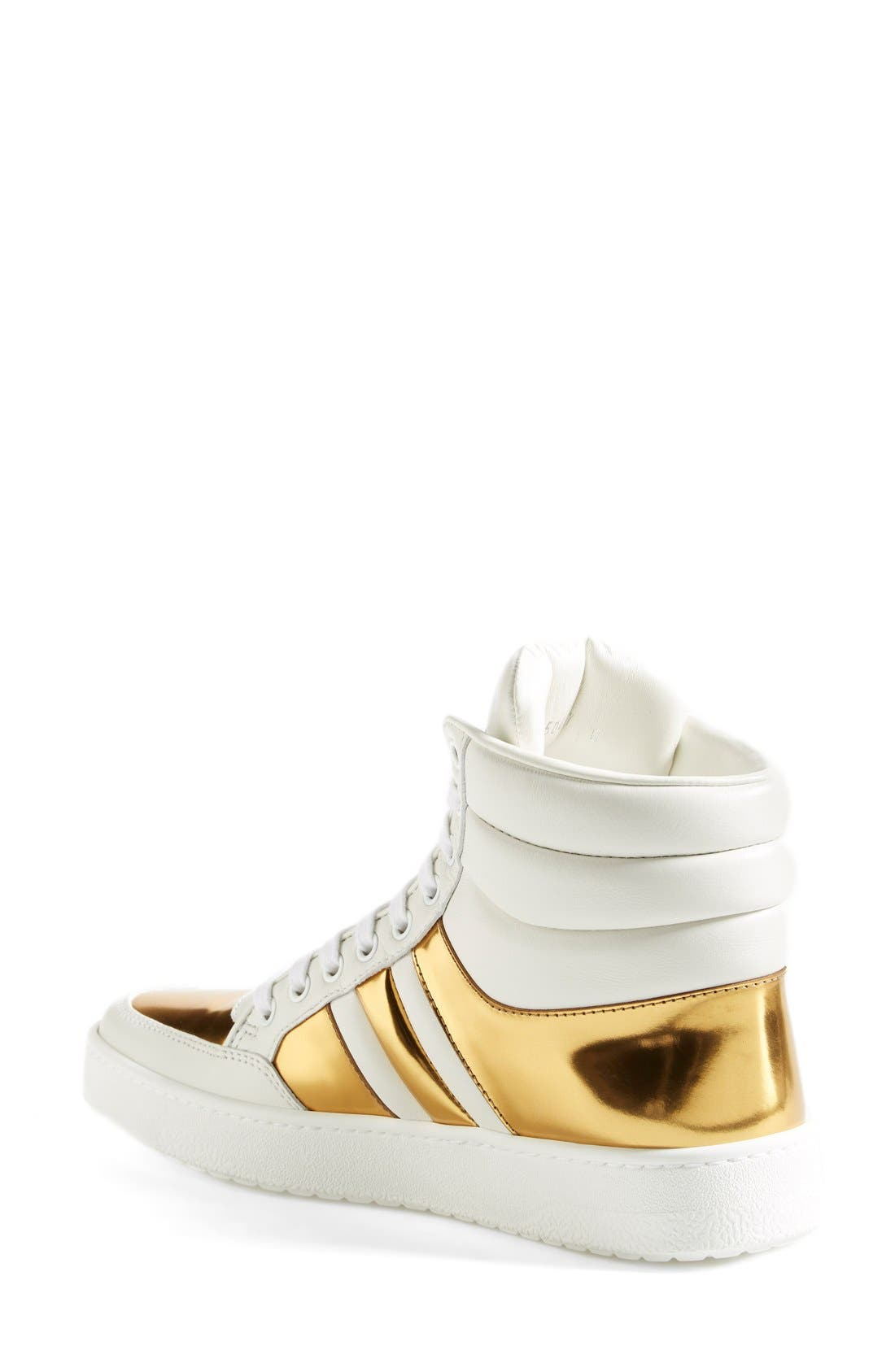 Alternate Image 2  - Gucci 'Ronnie' High Top Sneaker (Women)