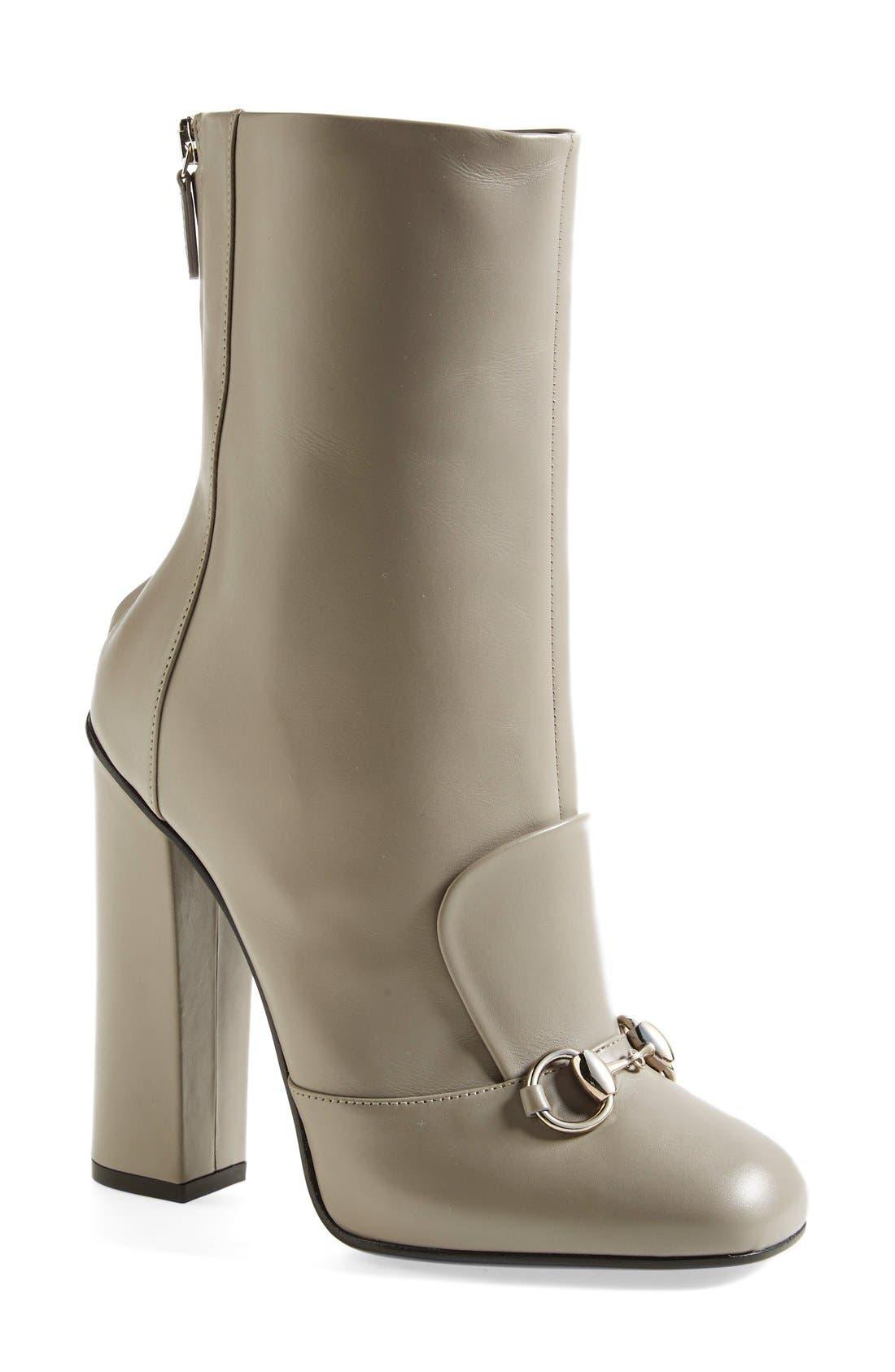 Alternate Image 1 Selected - Gucci 'Lillian' Bit Boot (Women)