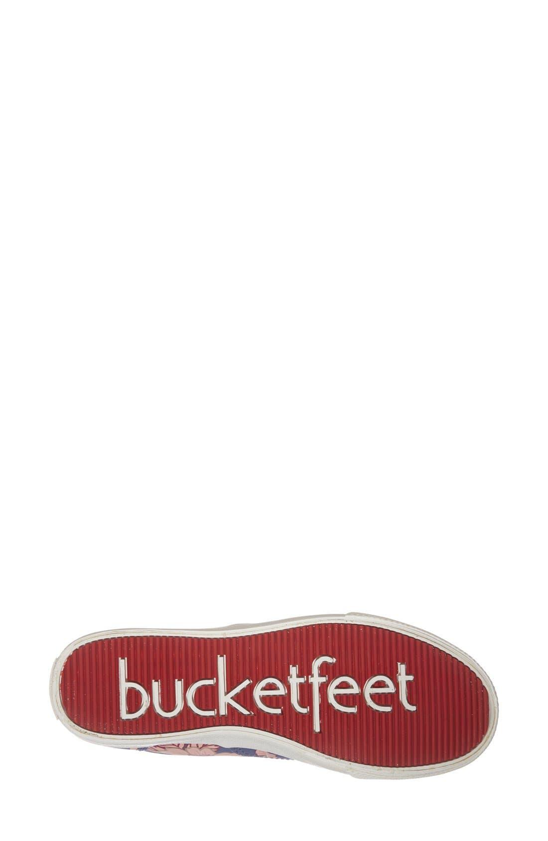Alternate Image 4  - BucketFeet 'Blue East' Print Sneaker (Women)