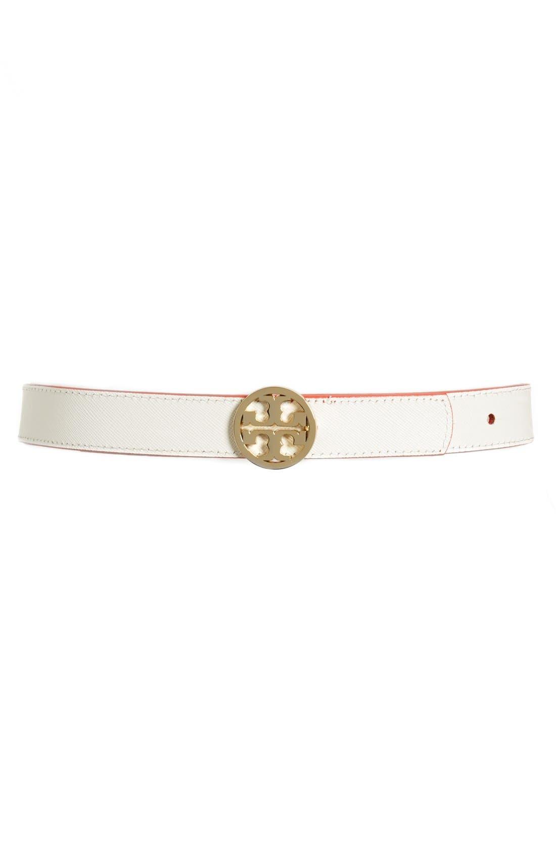 Alternate Image 2  - Tory Burch 'Classic' Logo Reversible Saffiano Leather Belt