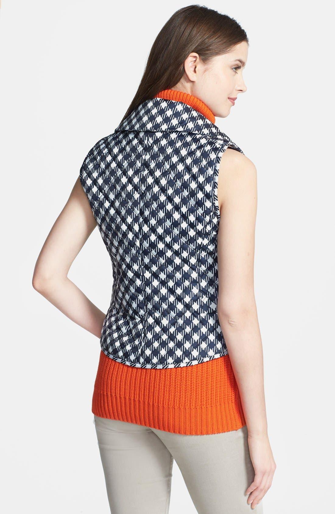 Alternate Image 2  - MICHAEL Michael Kors Print Puffer Vest (Regular & Petite)