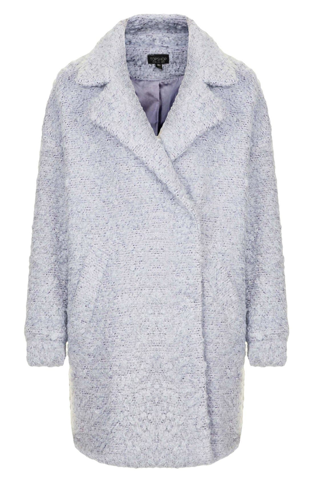 Alternate Image 3  - Topshop 'Amelie' Slouchy Boyfriend Coat