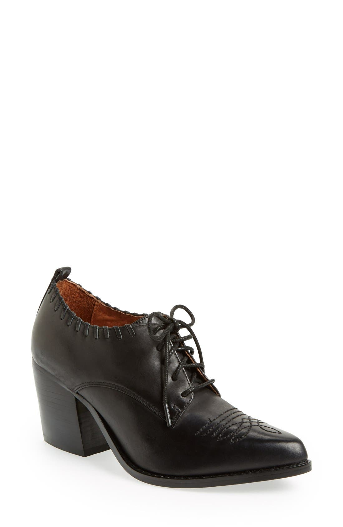 Alternate Image 1 Selected - Jeffrey Campbell 'Wilkes' Pointy Toe Bootie (Women)