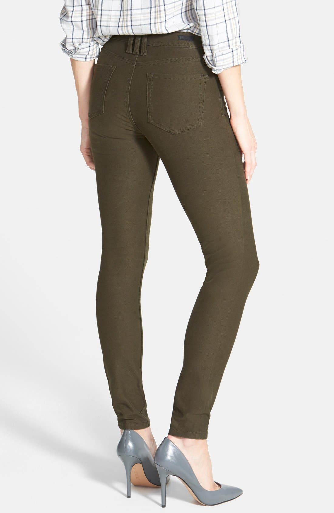 Alternate Image 2  - KUT from the Kloth 'Mia' Colored Stretch Skinny Jeans