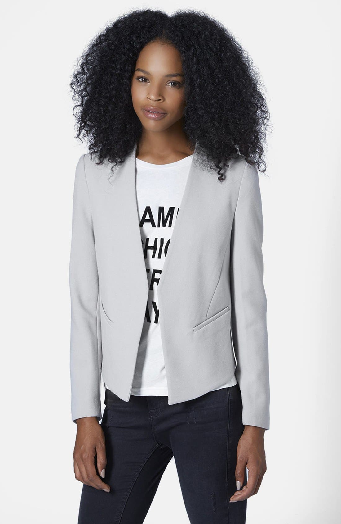 Alternate Image 1 Selected - Topshop 'Molly' Blazer