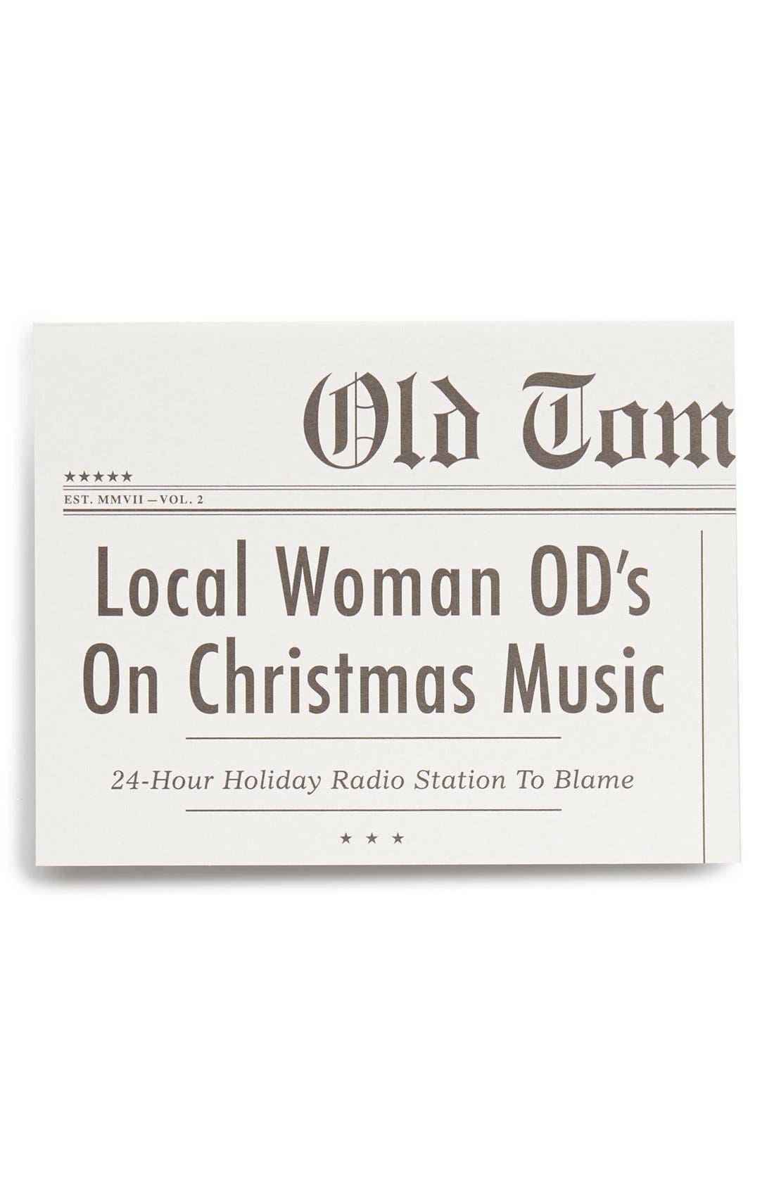 Main Image - Old Tom Foolery 'Christmas Music' Card