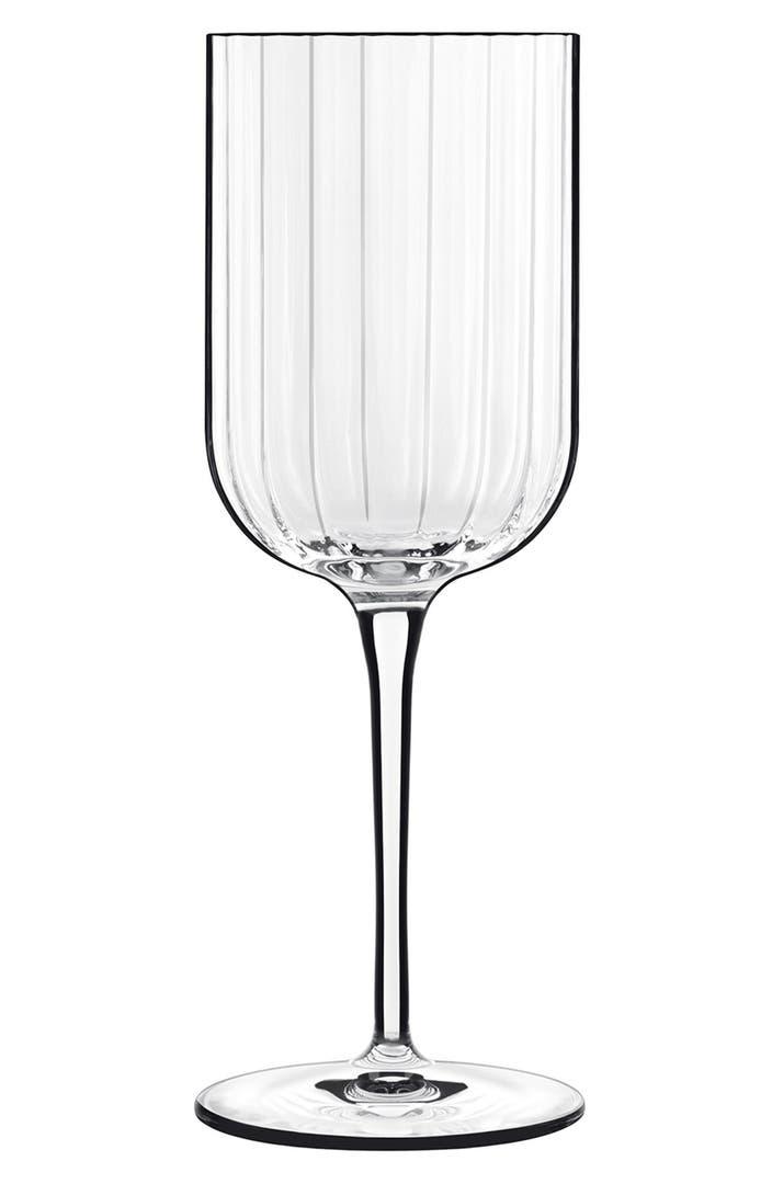 Luigi Bormioli 39 Bach 39 White Wine Glasses Set Of 4