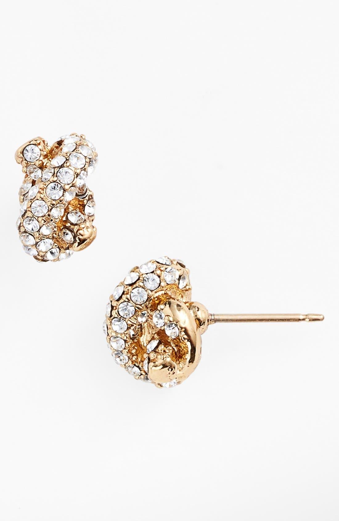 Alternate Image 1 Selected - kate spade new york 'sailors' knot' stud earrings