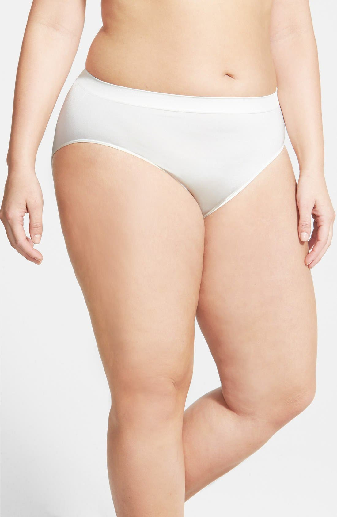Wacoal Smooth High Cut Briefs (Plus Size) (3 for $39)
