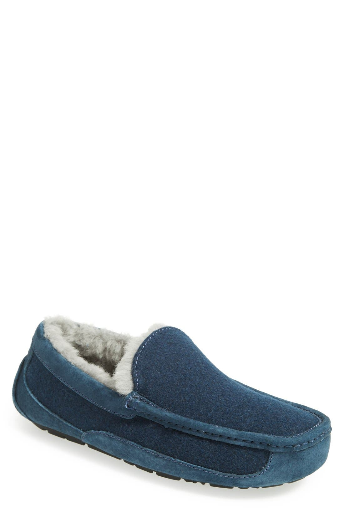 Alternate Image 1 Selected - UGG® Australia 'Ascot' Wool Slipper