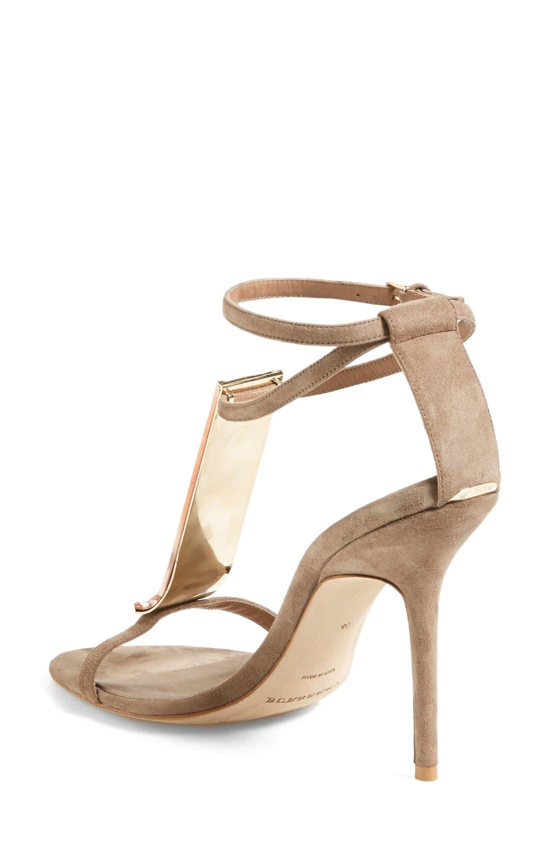 Alternate Image 2  - Burberry 'Irving' Perspex® T-Bar Sandal (Women)