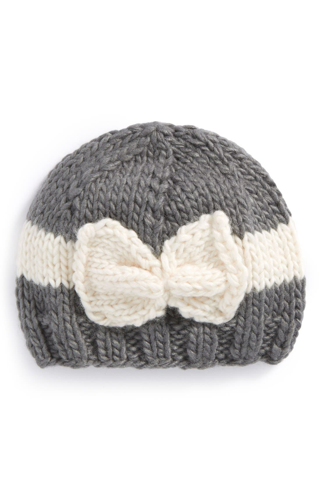 Blueberry Hill 'Sabrina' Knit Cap (Baby Girls)