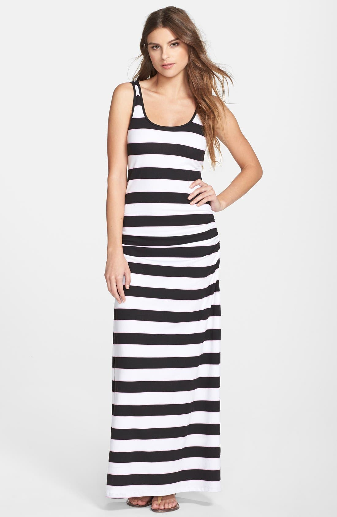 Alternate Image 1 Selected - Tommy Bahama Rugby Stripe Tank Maxi Dress