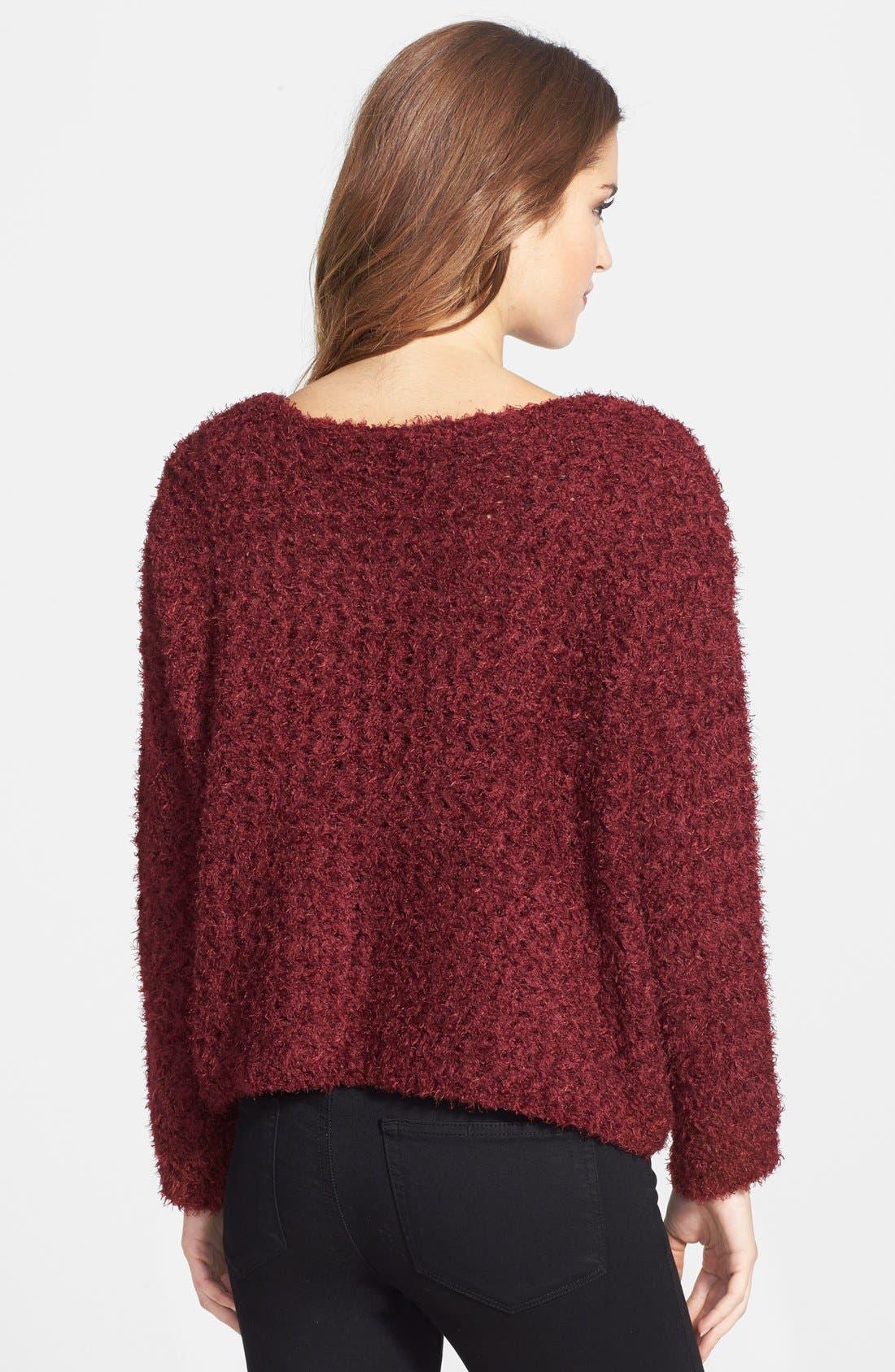 Alternate Image 2  - Jessica Simpson 'Snowie' Sweater