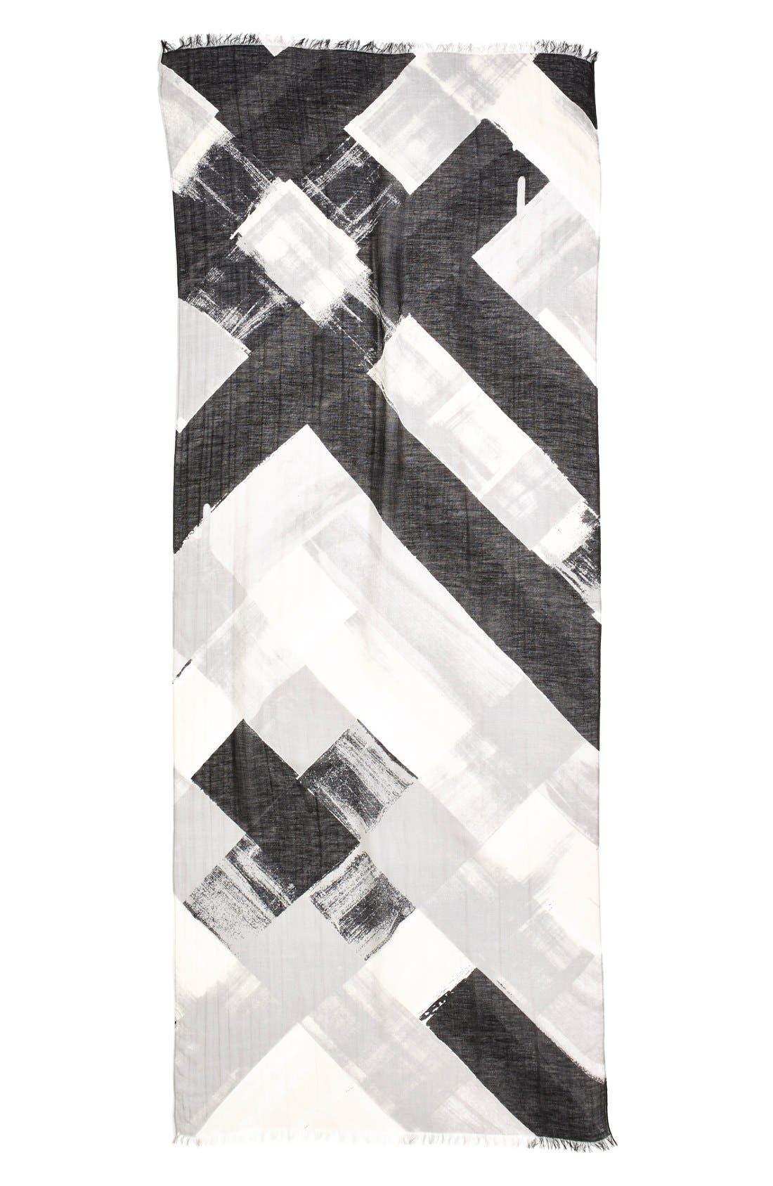 Alternate Image 2  - Halogen Paint Stripe Scarf