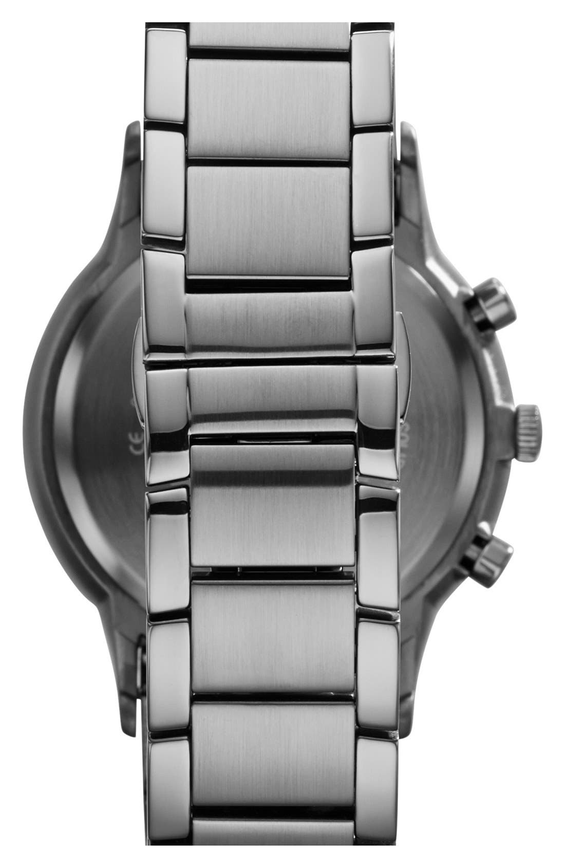 Alternate Image 2  - Emporio Armani Stainless Steel Bracelet Watch, 43mm