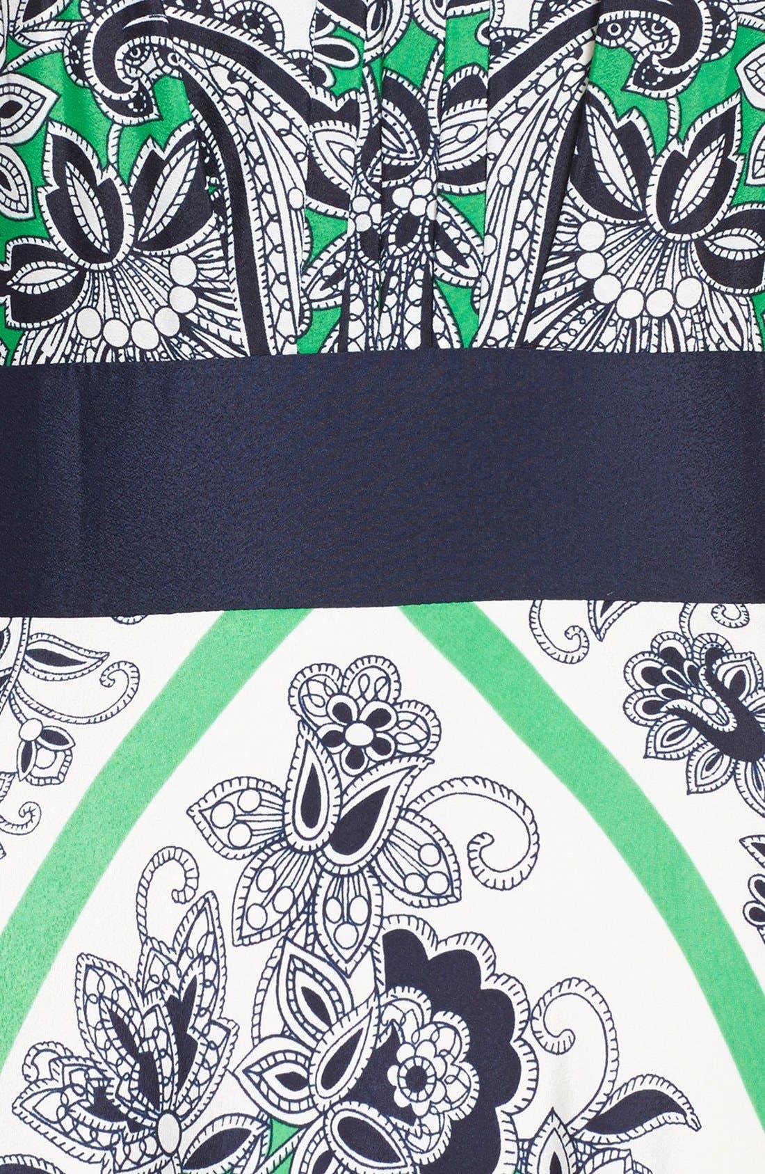 Alternate Image 3  - Eliza J Scarf Print Halter Maxi Dress (Regular & Petite)
