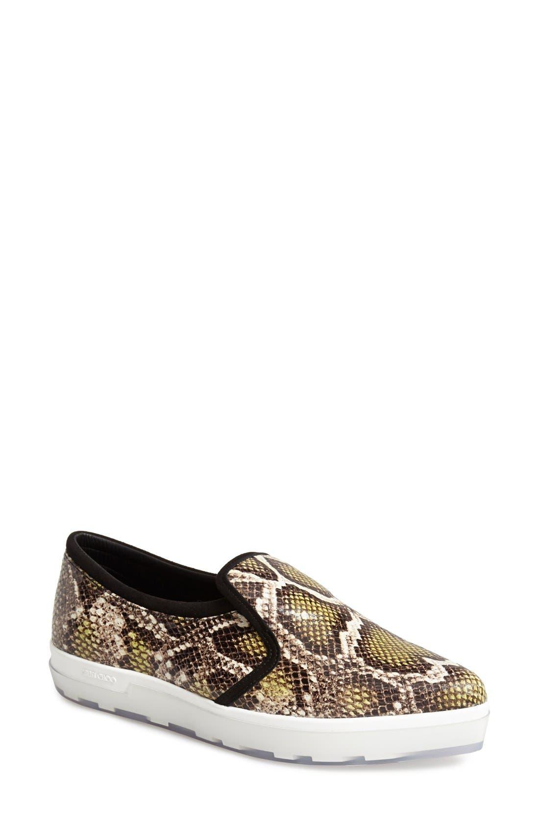 Alternate Image 1 Selected - Jimmy Choo 'Brooklyn' Slip-On Sneaker (Women)