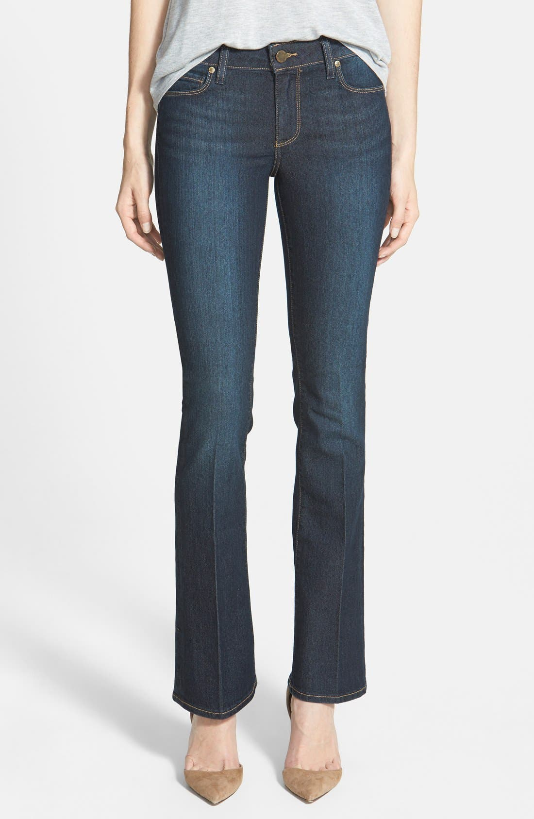 Main Image - Paige Denim 'Manhattan' Bootcut Jeans (Moonrise)