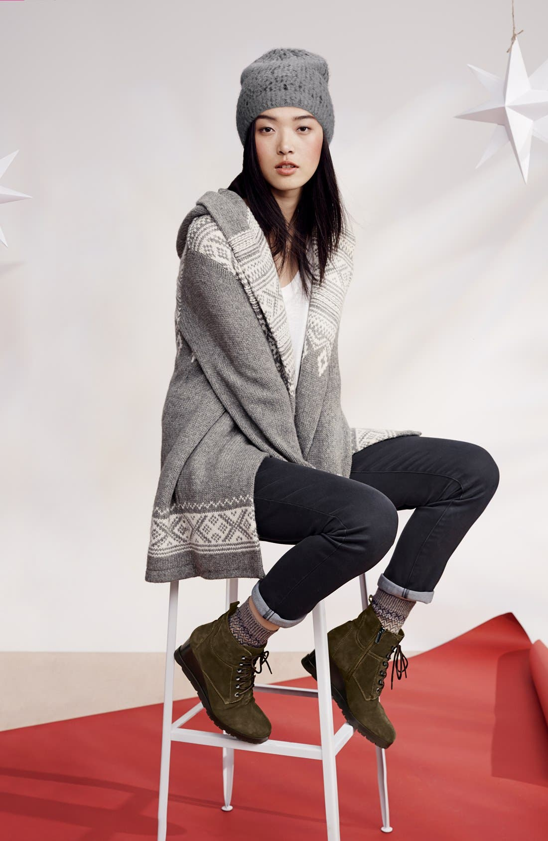 Alternate Image 6  - Aquatalia by Marvin K. 'Chance' Suede Wedge Bootie (Women)