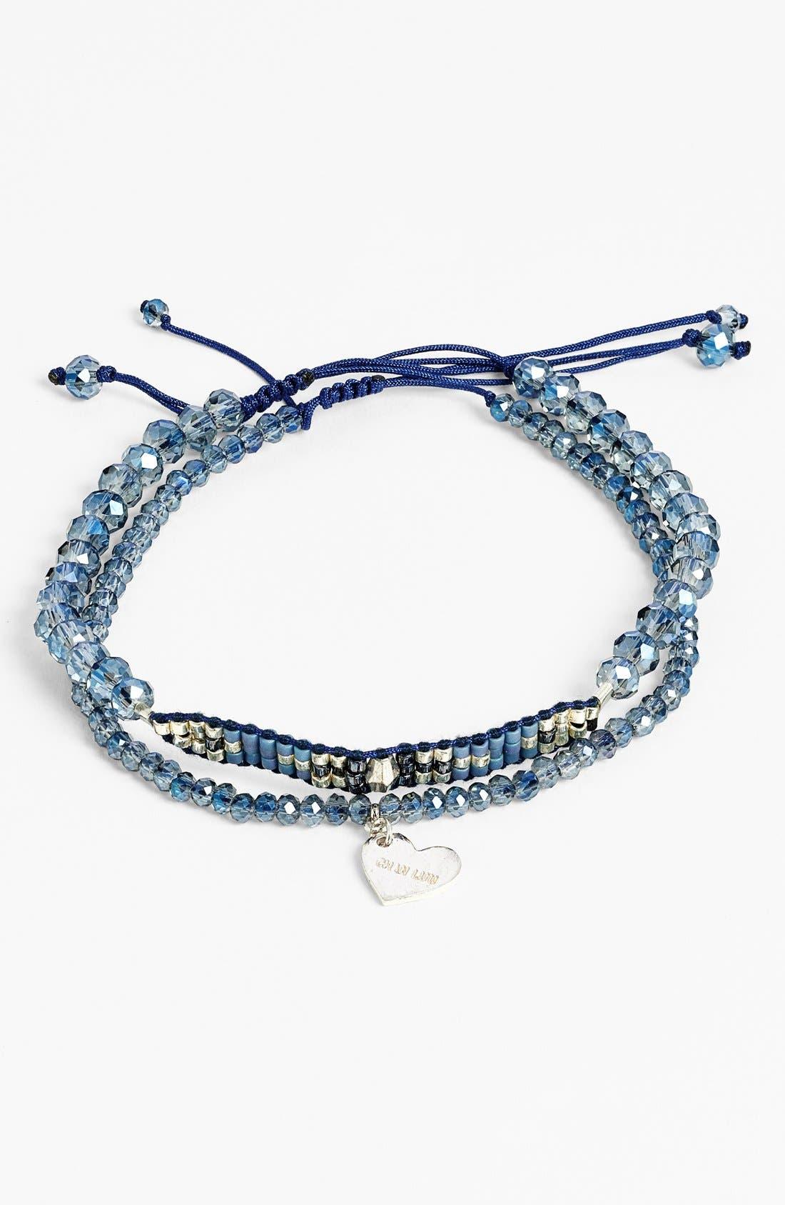 Alternate Image 1 Selected - Chan Luu Beaded Adjustable Bracelets (Set of 2)