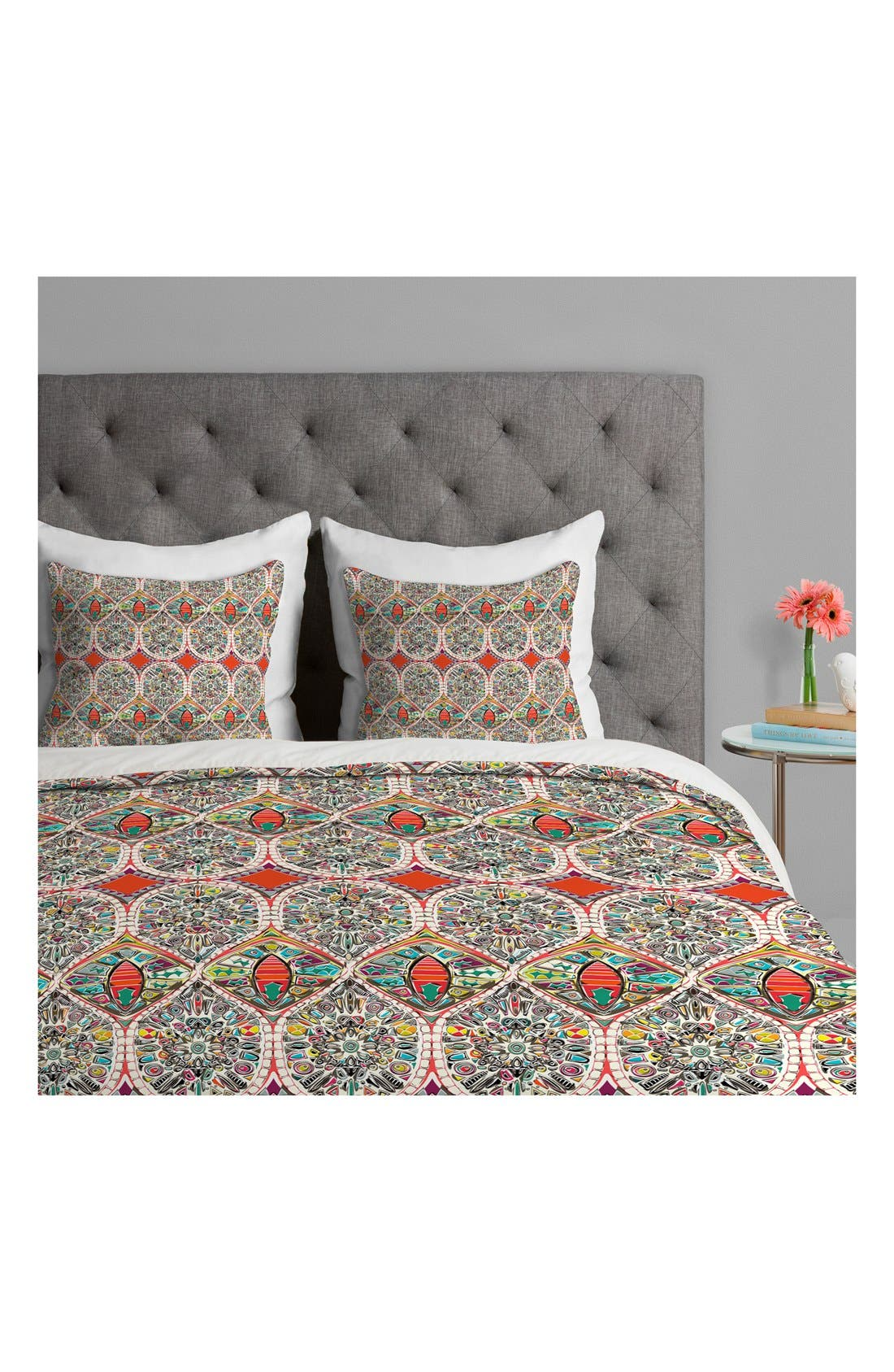 Alternate Image 2  - DENY Designs Sharon Turner Holly Duvet Cover & Sham Set