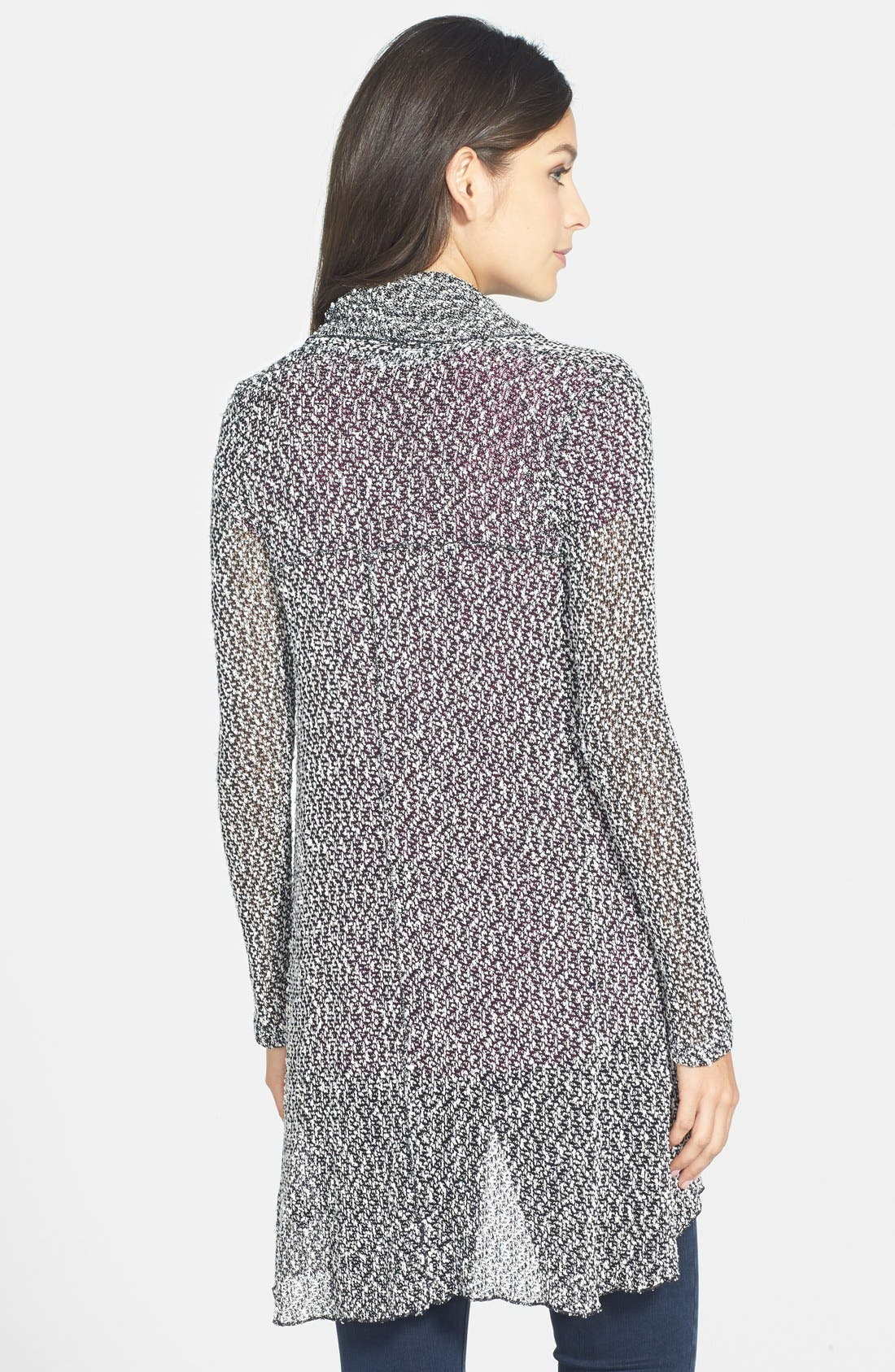 Alternate Image 2  - Coin 1804 Open Stitch Open Front Cardigan