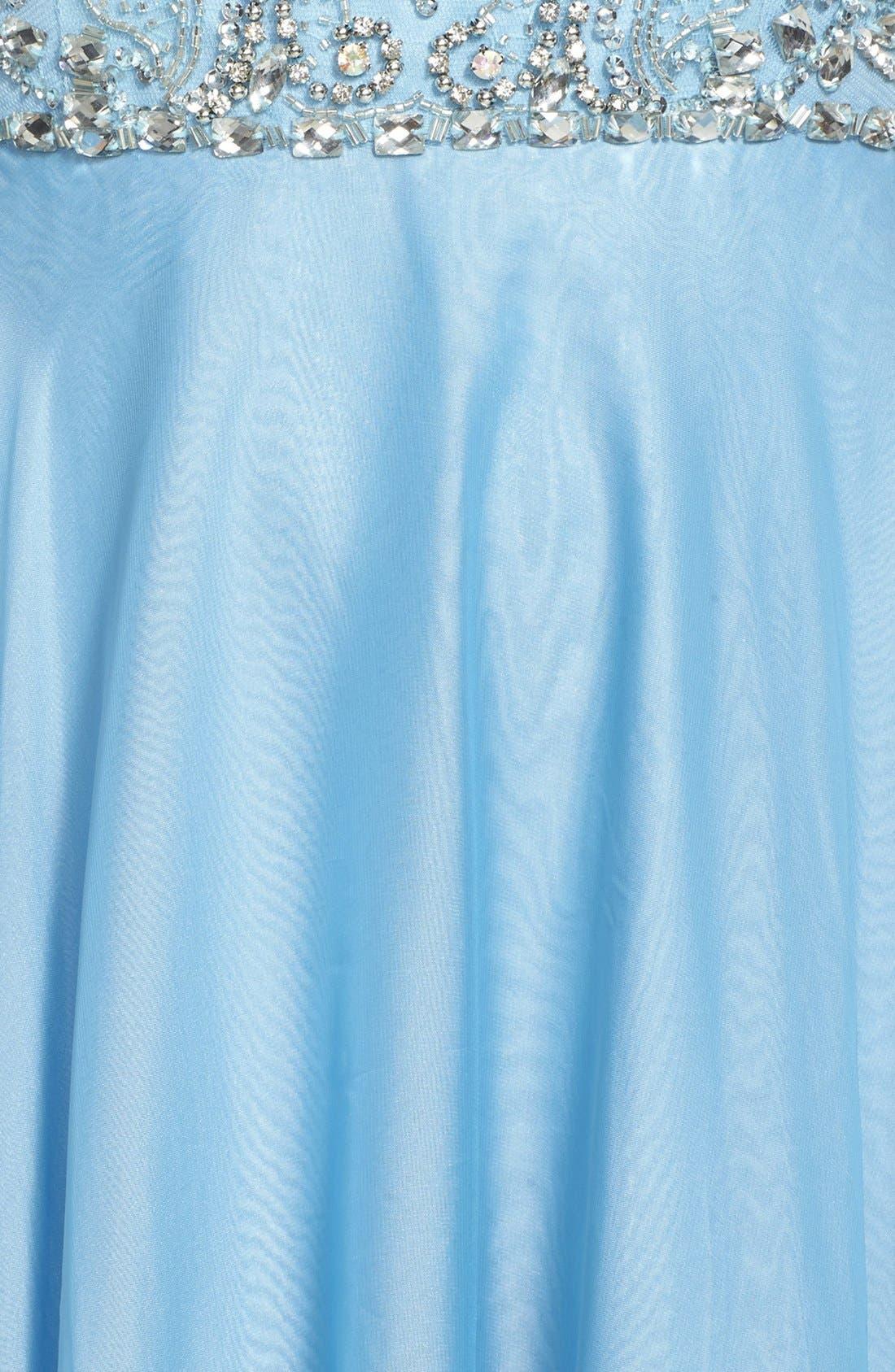 Alternate Image 3  - Sherri Hill Embellished Illusion Bodice Gown