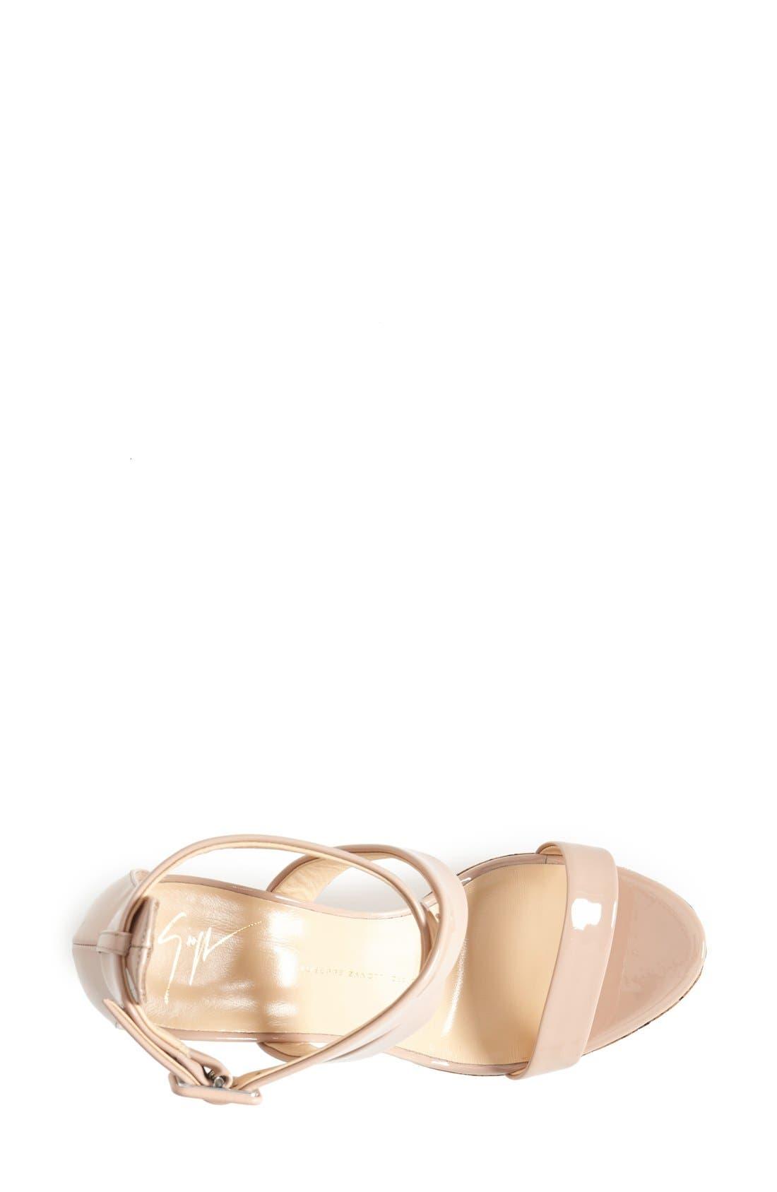 Alternate Image 3  - Giuseppe Zanotti 'Roz' Platform Wedge Sandal (Women)