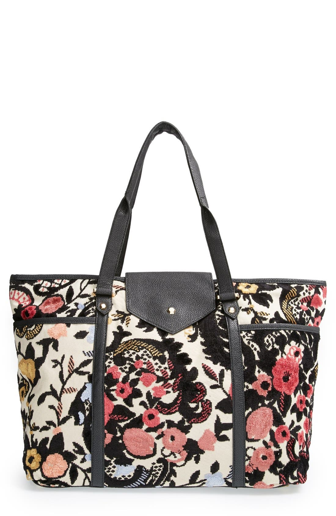 Alternate Image 1 Selected - Topshop Floral Tapestry Tote